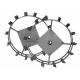 Грунтозацеп 600/130 для МК-7000,МК-7500,МК-8000 для окучивания (шестигранник 23 мм) (комп. 2 шт.)