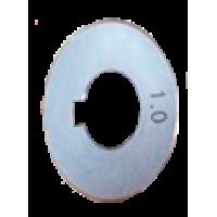 Ролик в подающем устройстве с U канавкой 1,0/1,2, САИПА-350, САИПА-500