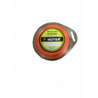 Леска Huter R2412 (круг) 2,4мм х 12м
