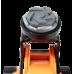 Домкрат гидравлический подкатной ДМК-2,5ФК (2,5 т, 140-390 мм, с фиксатором, в кейсе) Вихрь