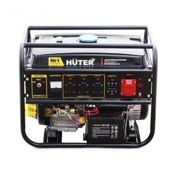 Бензиновый генератор Huter DY8000LX-3 в Екатеринбурге
