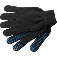 Перчатки ХБ - 4/10 ПВХ Черные (5 пар)