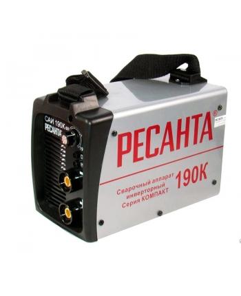 Сварочный инвертор Ресанта САИ 190К