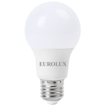 Лампа светодиодная EUROLUX LL-E-A60-9W-230-2,7K-E27 в Екатеринбурге