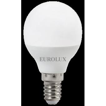 Лампа светодиодная EUROLUX LL-E-G45-7W-230-4K-E14 в Екатеринбурге