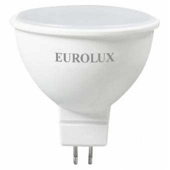 Лампа светодиодная EUROLUX LL-E-MR16-7W-230-2,7K-GU5.3 в Екатеринбурге