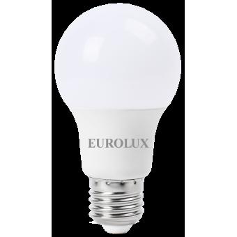 Лампа светодиодная EUROLUX LL-E-A60-11W-230-4K-E27 в Екатеринбурге