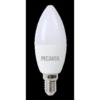 Лампа светодиодная РЕСАНТА LL-R-C37-7W-230-3K-E14 в Екатеринбурге