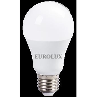 Лампа светодиодная EUROLUX LL-E-A60-15W-230-2,7K-E27 в Екатеринбурге