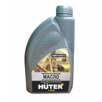 Масло полусинтетическое для двухтактных двигателей,для техники Huter,1л