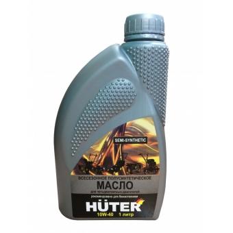 Масло моторное 10W-40 полусинтетическое для четырёхтактных двигателей, для техники Huter, 1л. в Екатеринбурге