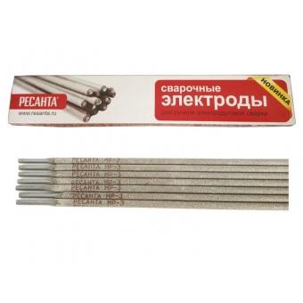 Сварочные электроды Ресанта МР-3 Ф2,5мм Пачка 1 кг в Екатеринбурге
