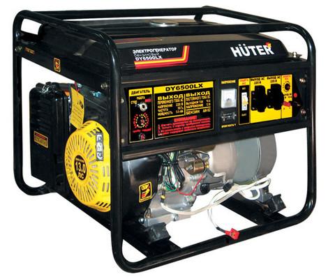 Бензогенератор HUTER DY 6500